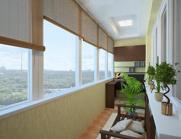 Утепление балкона с использованием пенополистирола