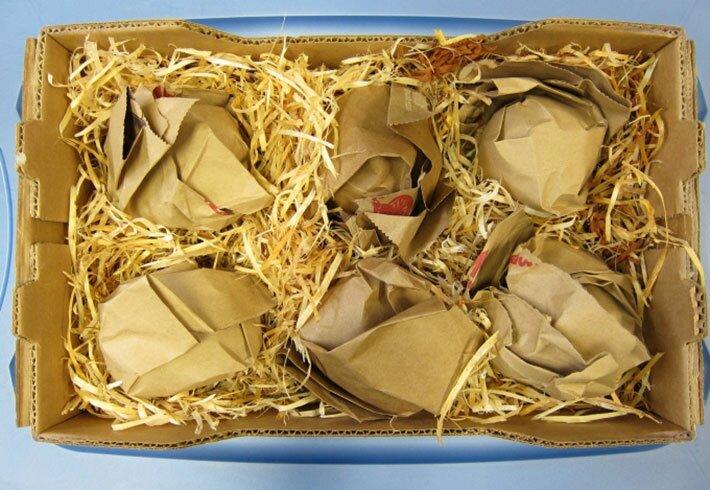 Упаковка в солому