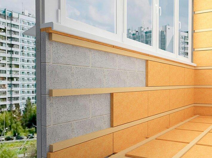 Утепление стен балкона: какой теплоизоляционный материал выбрать?