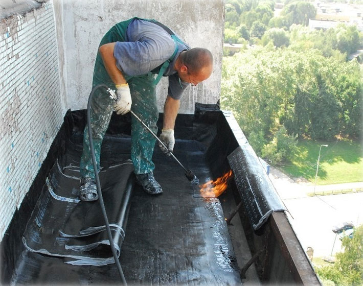 Работы по герметизации балкона